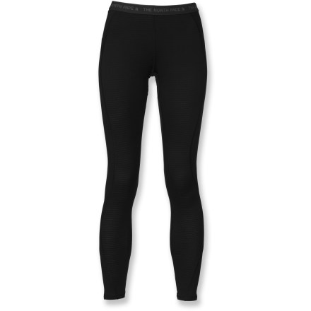 The women's The North Face Warm long underwear tights help keep you comfortable and ready to explore in cold weather. - $24.83