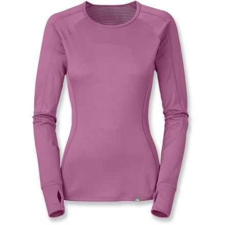 Even if it's cold, The North Face Warm Crew Neck top for women helps keep you comfortable and ready for adventure. - $24.83