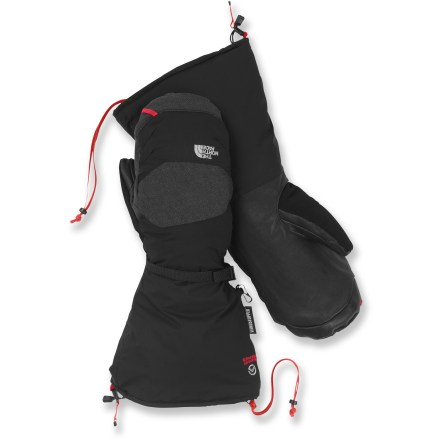 Ski Keep your hands warm while you're atop an alpine peak with The North Face Himalayan mittens . - $79.83
