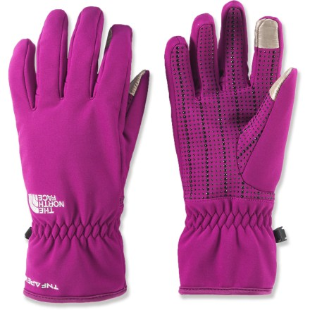 Fitness Send texts and surf the web with the women's Etip Apex gloves from The North Face. The water-resistant gloves perform day-in and day-out to keep fingers warm while you take on cool-weather adventures. - $26.83