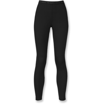 The North Face Light long underwear tights for women boost your warmth during adventures in cool weather. - $21.83