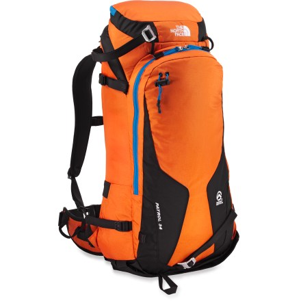 Ski The North Face Patrol 34 winter pack is your ticket to fun in the backcountry, with multiple carry options for skis or a snowboard and ample space for an epic day in the mountains. - $84.93