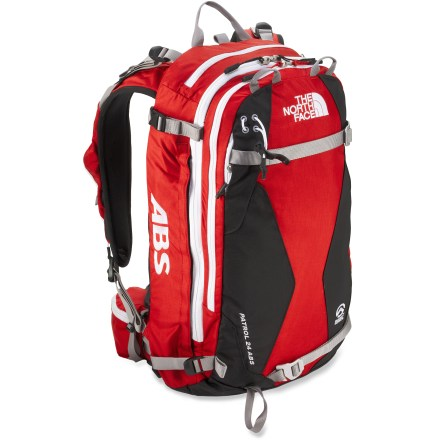 Ski The North Face Patrol 24 ABS avalanche airbag pack enhances protection for winter pursuits in the backcountry. Its innovative airbag system helps prevent burial in an avalanche. - $883.93