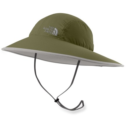The North Face Horizon Sun Safari hat is great for sun-filled trail adventures. Ripstop nylon fabric dries quickly to keep you comfortable; cotton terry sweatband is soft against bare skin. Fabric provides UPF 50+ sun protection, shielding skin from harmful ultraviolet rays. Chin strap with adjustable toggle. Closeout. - $22.93