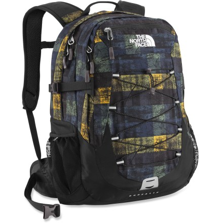 Camp and Hike The North Face Borealis offers technical outdoor performance and serves double duty as a school bag or work briefcase. Form-fitting shoulder straps, hipbelt and back panel offer great fit and comfort. - $70.93