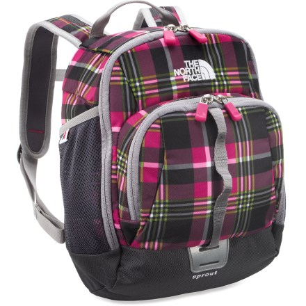 Camp and Hike Slip The North Face Sprout pack onto wee adventurers' backs and watch them enjoy all the adult-worthy features that make them proud to carry their own pack. - $35.00