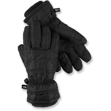 The North Face Metropolis gloves feature PrimaLoft(R) insulation for great warmth in winter weather. Ripstop nylon shells feature PrimaLoft insulation in the palms and Heatseeker(TM) insulation at the backs of the hands. 5 Dimensional Fit(TM) uses 5 measurements of the hand to construct gloves with an accurate and consistent fit. Grippy synthetic palms. The North Face Metropolis gloves have comfortable knit cuff gaskets to keep warmth in. - $31.83