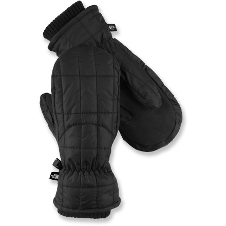 The North Face Metropolis mittens feature PrimaLoft(R) insulation for great warmth in winter weather. Ripstop nylon shells feature PrimaLoft insulation in the palms and Heatseeker(TM) insulation at the backs of the hands. 5 Dimensional Fit(TM) uses 5 measurements of the hand to construct mittens with an accurate and consistent fit. Grippy synthetic palms. The North Face Metropolis mittens have comfortable knit cuff gaskets to keep warmth in. - $29.83