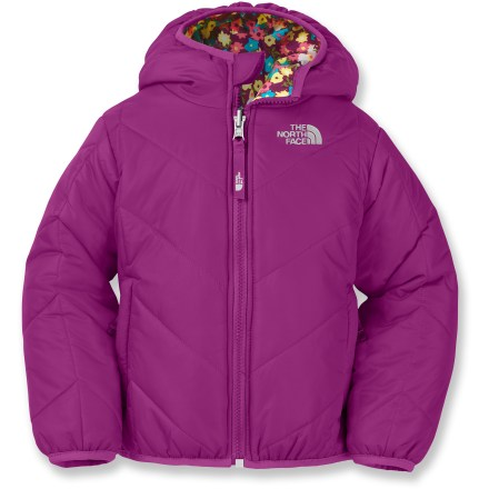 The North Face Reversible Perrito insulated jacket cuddles toddlers as they get an early start to a long life of outdoor adventure. - $47.83