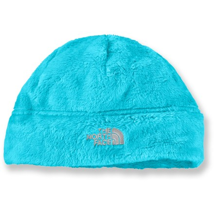 The North Face Denali thermal beanie is oh so cute and cuddly. This soft, fuzzy hat will cradle her cranium in cozy warmth and comfort. - $11.83