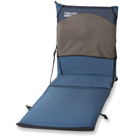 Camp and Hike This Therm-a-rest Trekker Lounge Chair Kit has a built-in fleece pillow sleeve and covers your entire mattress to create a comfortable camping chair. - $24.93