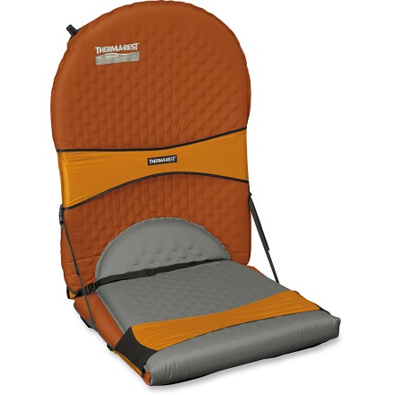 Camp and Hike The Therm-a-Rest Compack Chair kit is so light and and compact there's no reason not to pack it along! It turns your camping mattress (sold separately) into a comfy chair. - $59.95