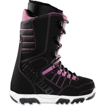 Snowboard Even fuzzy bunny slippers can't compete with the comfort of the thirtytwo Prion snowboard boots. Add outstanding performance to the mix, and novice and experts alike will shred happy all day long. - $67.83