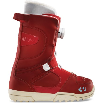 Snowboard The STW Boa(R) boots from thirtytwo feature a forgiving forward and lateral flex for all-day comfort. - $88.83