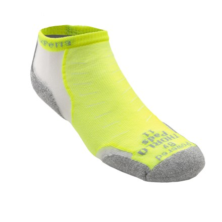Fitness Powered by Thorlo padding and tailored for performance and minimal bulk, runners will appreciate the lightweight and supportive fit of the women's Experia Running socks. - $14.95