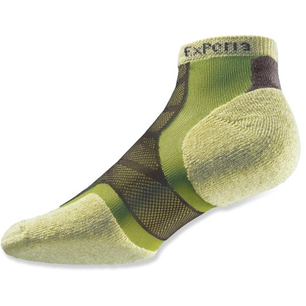 Fitness Powered by Thorlo padding, the Experia Merino Wool/Silk running socks are designed for comfort and support with top moisture-management performance and minimal bulk. - $4.83
