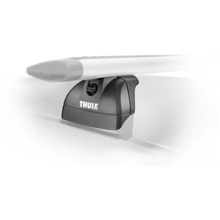 Camp and Hike These mounts are designed as the strongest, best-fitting Thule system for mounting on aerodynamic vehicles with fixed point rack attachment locations. - $199.95