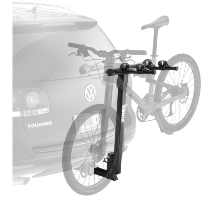 Fitness Solid Thule(R) construction at a solid price. This hitch rack carries two bikes securely and loads easily, so get out and have some fun! - $199.95