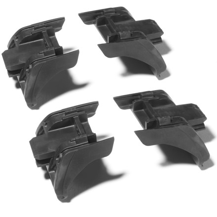 Fitness These custom fit rubber adapter kits are for use with Thule Specialty Railing Rack, sold separately. - $23.83