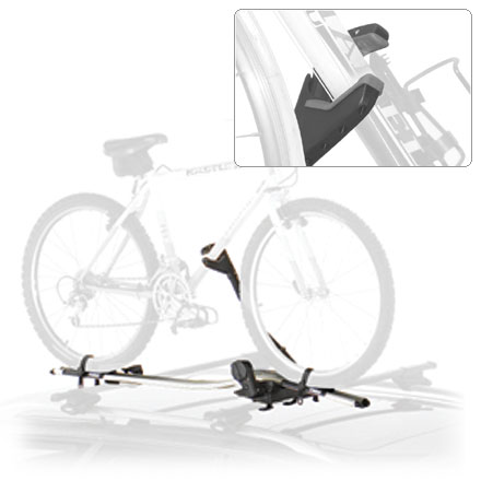 Fitness This Thule Criterium Upright Bike Mount push the bike carrier envelope with their upright rack--please, no staring! - $189.95
