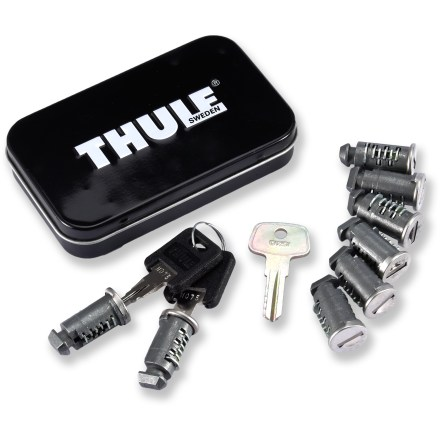 Camp and Hike These lock cylinders allow you to lock Thule racks and accessories to keep all your gear safe. Set includes 8 locks. - $99.95