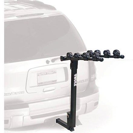 Fitness Solid Thule(R) construction at a solid price! This Parkway hitch rack carries 4 bikes securely and loads easily, so get out and have some fun! - $199.95