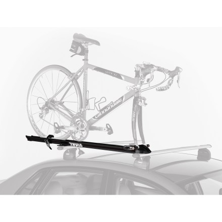 Fitness Looking for a sleek, secure and, most importantly, affordable fork-mounted bike carrying machine? Look no further than the Thule Prologue Fork Mount bike rack. - $111.93