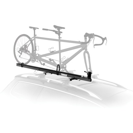 Fitness The Thule Pivoting Tandem rooftop bike carrier hauls your tandem or recumbent bike. - $439.95