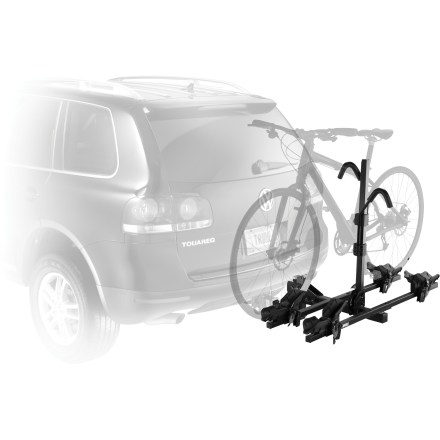 Fitness The Thule Doubletrack 2-bike hitch rack has all your bike transportation needs covered, regardless of what type of bike you ride. - $329.95