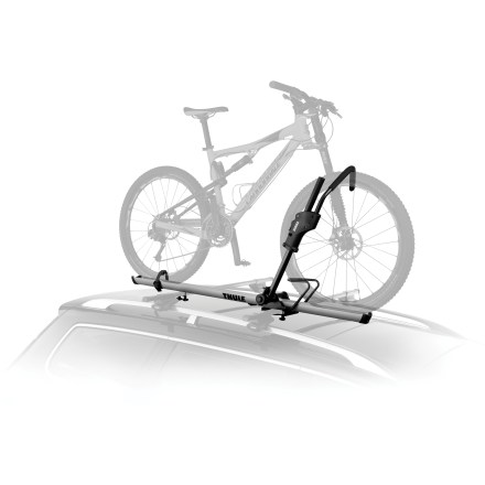 Fitness The Thule Sidearm Universal Upright rooftop single bike carrier is quick loading and accommodates most bikes. - $199.95