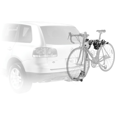 Fitness The Thule Helium 2 hitch rack securely carries up to 2 bikes and offers an ultra-lightweight construction that's easy to handle when installing and removing. - $236.83