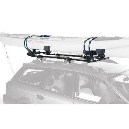 Kayak and Canoe Great for SUVs or cars with forward mounted racks, the Thule SlipStream XT is a fully adjustable kayak carrier that provides contact-free loading of a kayak onto almost any vehicle. - $349.95