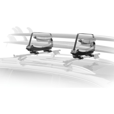 Surf The Thule Double-Decker Surfboard carrier hauls up to 2 boards with security and ease. - $191.93