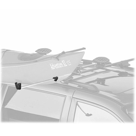 Camp and Hike Great for the lone paddler with a heavy boat, the Thule Outrigger II Boat Load Assist Bar provides the extra hand when loading a boat by yourself. - $99.95