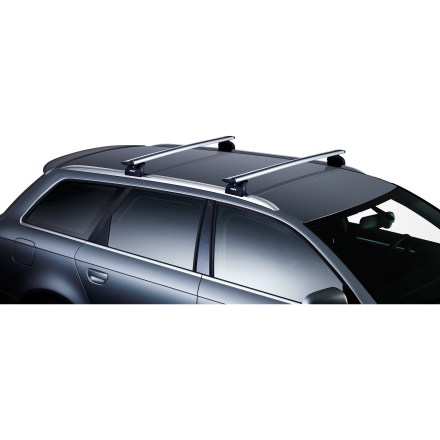 Camp and Hike Reducing noise and lowering drag, the new Thule AeroBlade 43 in. load bars work with the rest of your Thule system to haul your gear safely, securely and quietly to your destination. - $199.95