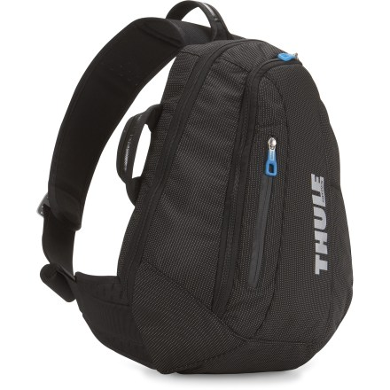 Entertainment The Crossover Sling daypack from Thule is a sleek, low-profile commuter bag that allows easy in-use access. - $99.95