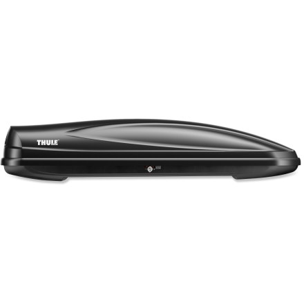 Ski The new Thule Force Alpine roof box features an aerodynamic design with textured skin, a low profile and plenty room to haul your gear to the mountains and ocean. - $449.95