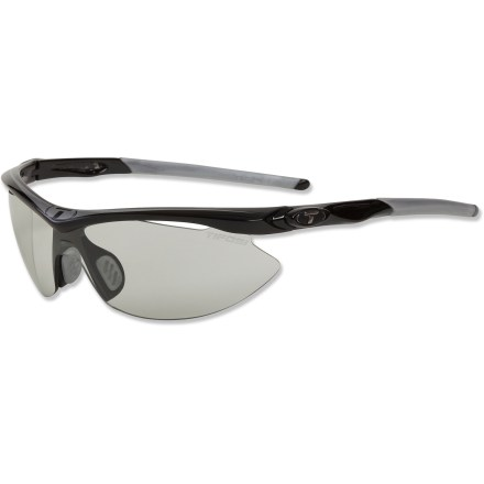 Entertainment The Slip Fototec photochromic sunglasses boast Tifosi's widest light transmission range and automatically adjust tint so you can keep performing without interruption. - $79.95