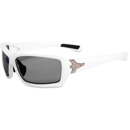 Entertainment The Tifosi Mast Polarized Fototec(TM) sunglasses cover you from sunrise to sundown. The lenses automatically adjust as you move from the sun to the shade. - $49.83