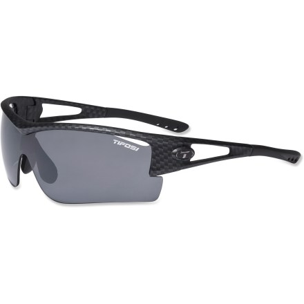 Entertainment Giving your eyes a wide berth of coverage, the Tifosi Logic XL sunglasses have a lens tint to accommodate you and your adventures, from predawn runs to cycling in the glaring sun. - $41.83