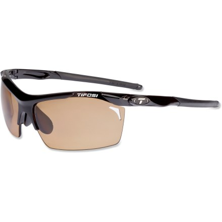 Entertainment From sun up to sundown, the Tifosi Tempt polarized photochromic sunglasses have you covered. The lenses automatically adjust as you move from the sun to the shade. - $99.95