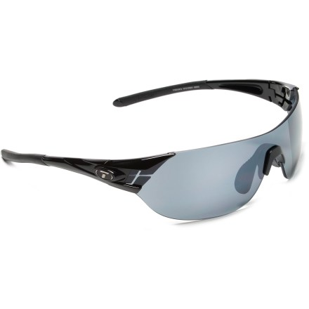 Entertainment Same as the Tifosi Podium, but smaller in stature for smaller face profiles. The Podium S sunglasses accommodate you and your adventures, from predawn runs to cycling in the glaring sun. - $69.95