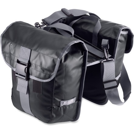 Fitness The Timbuk2 Tandem panniers are saddlebag style and made from a waterproof, fabric-backed tarpaulin material for high durability. - $63.93