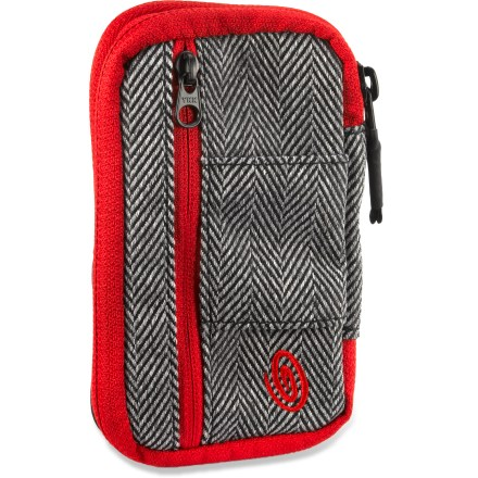 Entertainment The Timbuk2 Pinch phone wallet brings your go-everywhere items-phone, cards, cash and driver's license- together into a single, convenient package. Oh, sweet harmony! - $19.83