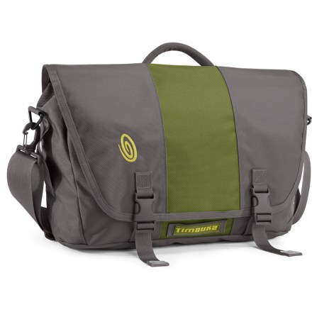 Entertainment The Medium-size Timbuk2 Commute messenger bag has a clever laptop compartment that unzips to lie flat so there's no need to remove your laptop at airport security. - $28.93