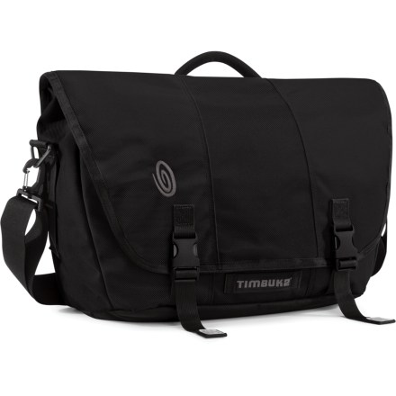 Entertainment The Large-size Timbuk2 Commute messenger bag has a clever laptop compartment that unzips to lie flat so there's no need to remove your laptop at airport security. - $63.93