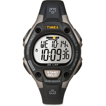 Entertainment The Timex Ironman 30-lap digital watch for women has Ironman-ready features built into Ironman-worthy construction. - $39.93