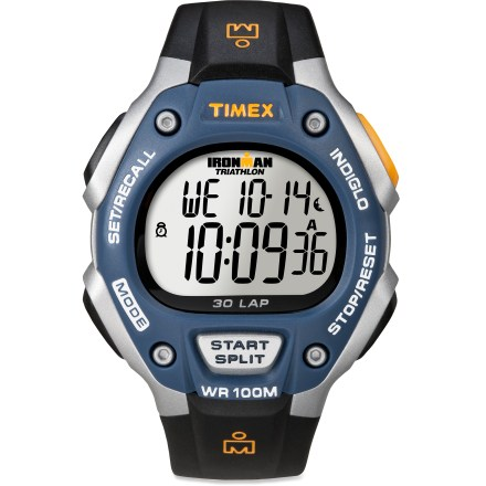 Entertainment The Timex Ironman 30-lap digital watch has triathlon-ready features to take you from workouts to race day. - $54.95
