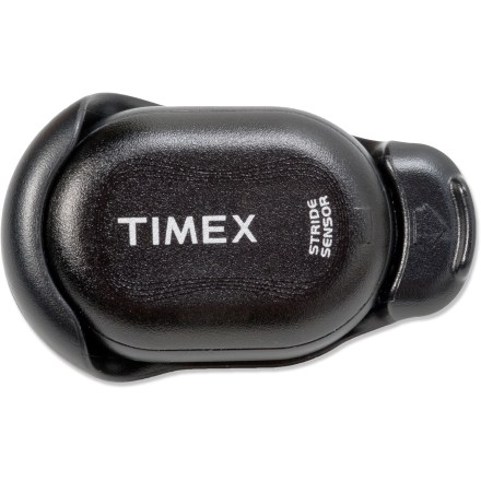 Fitness The Timex Ironman foot pod works with your Ironman GPS Trainer (sold separately) to track your speed and distance when running indoors or somewhere you just can't get a satellite signal. - $29.83
