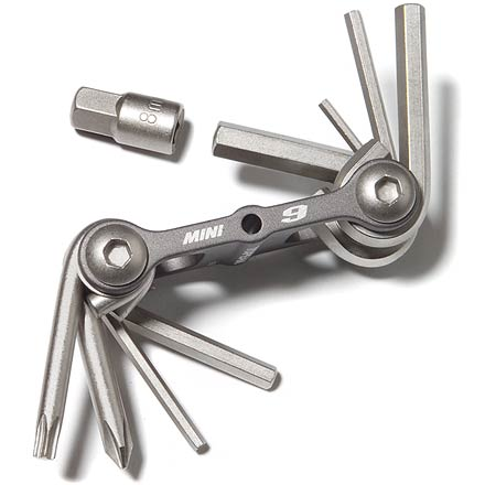 Fitness A multi-tool so small it can fit in the palm of your hand. - $16.95
